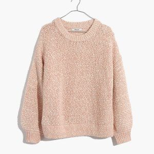 NWT Madewell Baez Pullover Sweater